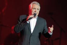 Michel Sardou sur la scène de l'Olympia en 2013
