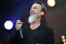Le chanteur français Florent Pagny
