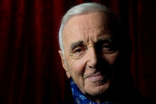 Le chanteur Charles Aznavour en septembre 2015