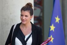 Marlène Schiappa à l'Élysée le 25 juillet 2018