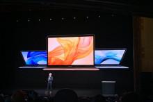 Apple a présente un nouveau MacBook Air à New York, le 30 octobre 2018.