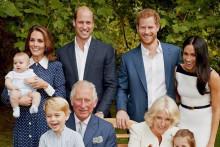 La famille royale pour les 70 ans de Charles