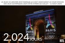 Jeudi 10 janvier 2024 : J-2.204 avant le coup d'envoi des JO à Paris
