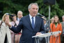 François Bayrou, le 8 octobre 2018 à Pau