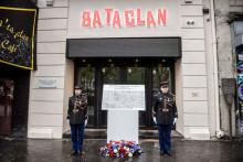 La salle de concert du Bataclan avait été touchée lors des attentats de Paris, le 13 novembre 2015.