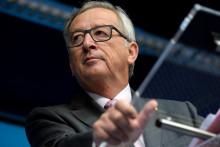 Le président de la Commission européenne Jean-Claude Juncker, en fonction depuis le 1er novembre 2014