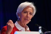 Christine Lagarde, le 11 avril 2019