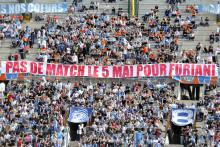 Les tribunes du stade Furiani, le 4 mai 2013