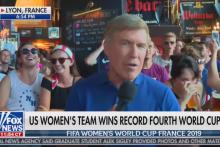 Le journaliste de Fox News a été entouré d'anti-Trump