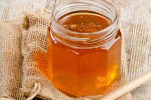 Un pot de miel. (Illustration)