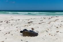 Une bouteille à la mer (illustration)