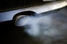 Le pot d'échappement d'un véhicule diesel (illustration).