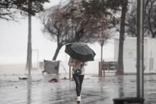 Une tempête (illustration)