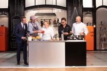 Stephane Rotenberg, Paul Pairet, Hélène Darroze, Michel Sarran et Philippe Etchebest