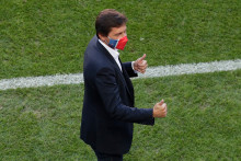 Le Brésilien Leonardo à Lisbonne le 22 août 2020