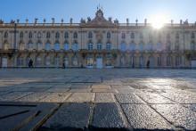 La mairie de Nancy est photographiée le 21 janvier 2020 à Nancy, dans le nord-est de la France.