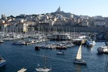Une vue de la ville de Marseille (illustration)