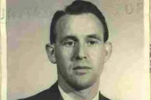 Une photo de Friedrich Karl Berger datant de 1959, publiée par le ministère américain de la Justice.