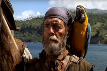 """David Bailie dans """"Pirates des Caraïbes : La Malédiction du Black Pearl"""""""