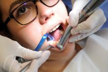Un patient chez un dentiste (illustration).