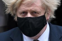 Le Premier ministre Boris Johnson, à Londres le 24 mars 2021.