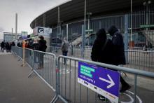 Le stade de France a été transformé en vaccinodrome.