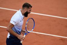 Benoït Paire à Roland-Garros le 30 septembre 2020