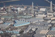 Une vue aérienne de la centrale nucléaire de Fukushima au Japon