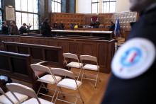 La salle d'audience d'un tribunal (illustration)