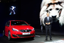 Peugeot et son patron Maxime Picat ont dévoilé la nouvelle 308 GTi
