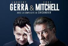 Eddy Mitchell et Laurent Gerra seront en spectacle en streaming et en direct le 27 mai prochain