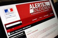 """Le site internet du ministère de la Justice présentant le dispositif """"Alerte enlèvement"""". (Illustration)"""