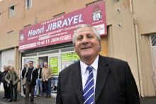 Photo de l'ancien député PS Henri Jibrayel prise le 4 avril 2012 à Marseille.