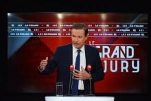Nicolas Dupont-Aignan est l'invité du Grand Jury RTL-Le Figaro-LCI du dimanche 2 mai 2021.