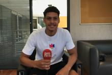 Luis Henrique au micro RTL de Hugo Amelin