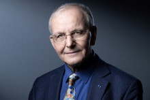 Le Professeur Axel Kahn, président de la Ligue contre le cancer, le 22 mars 2021.