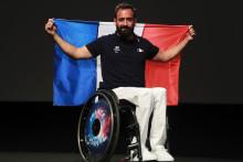 Michaël Jérémiasz, ancien N.1 mondial de tennis fauteuil