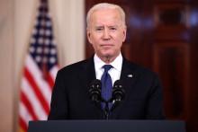 Photo de Joe Biden prise à la Maison Blanche le 20 mai 2021, à Washington, aux Etats-Unis.