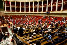 Photo de l'Assemblée nationale à Paris, le 9 février 2021. (Illustration)