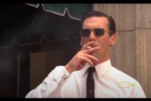 Don Draper dans la série Mad Men