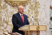 Alexandre Lukachenko, le président de la Biélorussie, ou du Bélarus