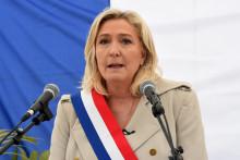 Marine Le Pen, le 8 mai 2021