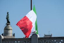 Le drapeau italien (image d'illustration)