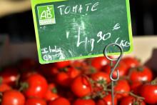 Des tomates labellisées bio. Photo d'illustration.