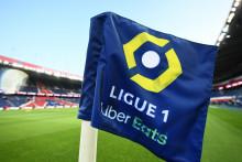 Le logo de la Ligue 1 le 13 septembre 2020 au Parc des Princes