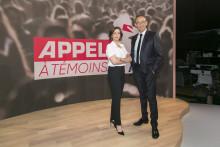 """Nathalie Renoux et Julien Courbet présentent """"Appel à témoins"""", diffusé à partir de ce lundi 7 juin sur M6."""