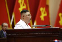 Kim Jong-un, le 9 avril 2021, à Pyongyang