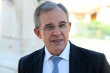 Le candidat du Rassemblement National aux élections régionales en Provence-Alpes-Côte d'Azur, Thierry Mariani