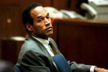 OJ Simpson lors d'une audience à la Cour supérieure de Los Angeles le 08 décembre 1994