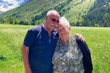 Robert et Monique se retrouvent, 75 ans après leur séparation